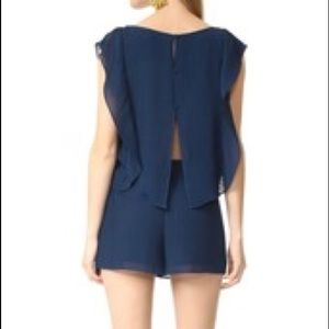 Club Monaco pleated, romper sz. 4